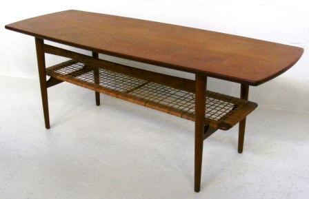 teak-coffee-table-with-rattan-magazine-shelf